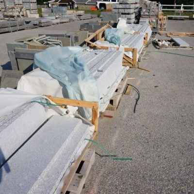 Granite Gray Tread by South Shore Landscape Supply