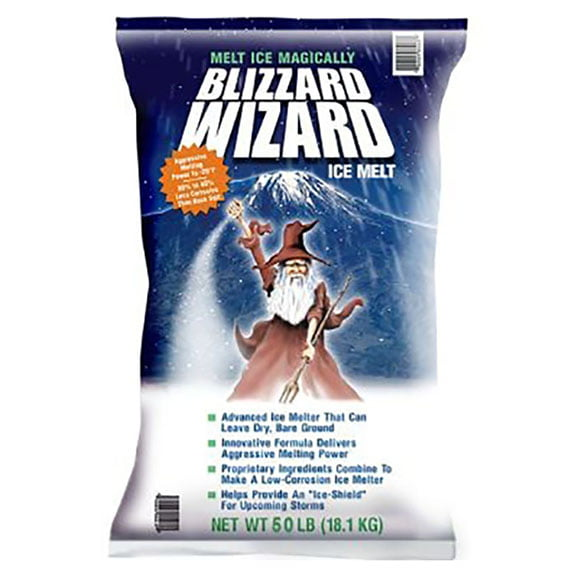 ice melt blizzard wizard south shore landscape supply