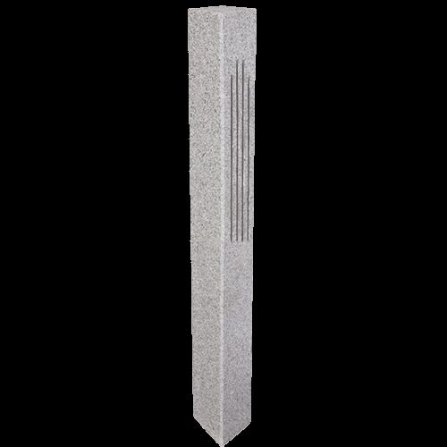 Buy Granite Lantern Post Gray 2 Fluted 2 Thermal