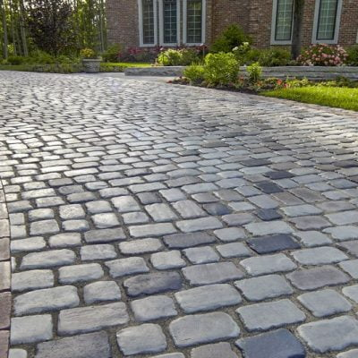 Cobblestone & Reclaimed Granite
